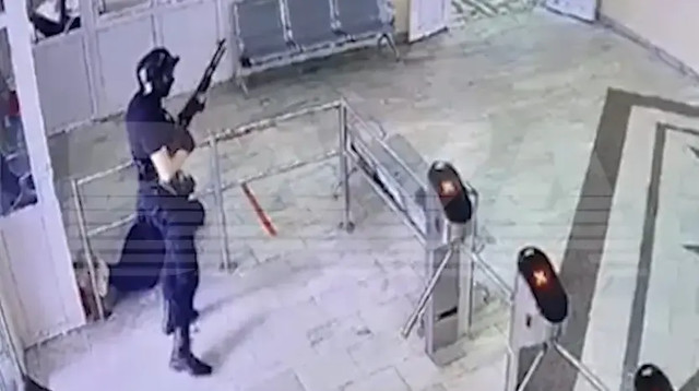 Появилось видео бойни в российском университете