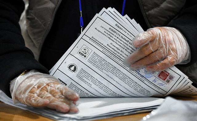 Центризбирком подсчитал 100% голосов на выборах в Госдуму
