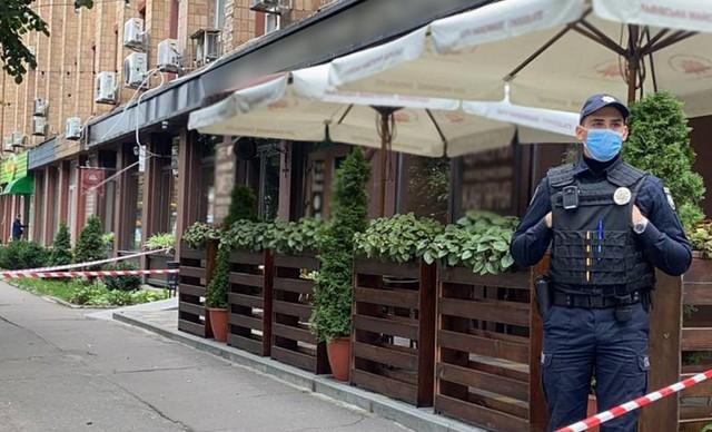 В центре Черкасс в кафе расстреляли бизнесмена: введен план «Сирена»