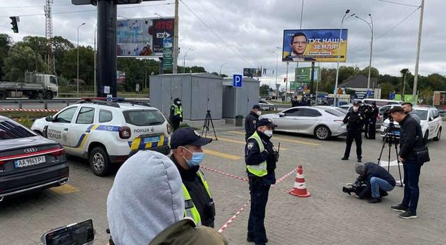 Автомобиль Шефира после обстрела проехал еще 15 км