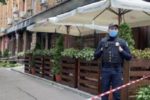 Убийство бизнесмена в Черкассах: появилось видео с места происшествия