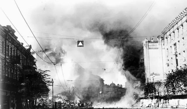 Как Красная армия в сентябре 1941 года взрывала Киев