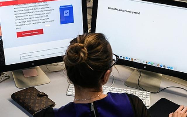 В избиркоме сообщили об отсутствии нарушений при онлайн-голосовании в Москве