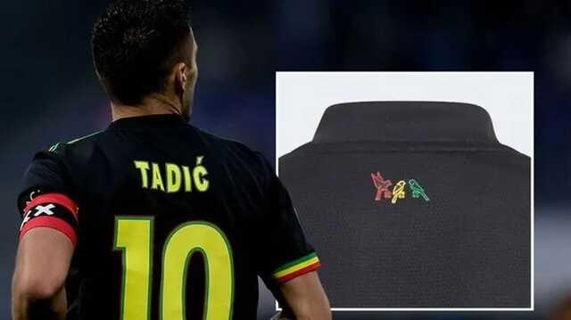 УЕФА запретил «Аяксу» играть в форме с тремя разноцветными птицами на спине
