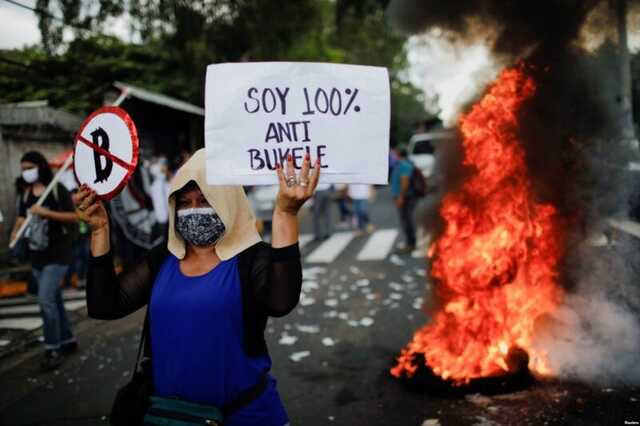 Как живет Сальвадор после легализации биткоина: протестующие жгут банкомат, президент меняет Конституцию, чтобы остаться подольше у власти