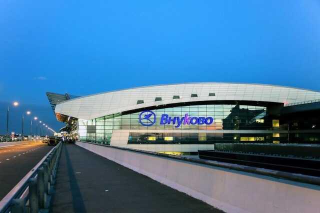 Испанец залез под крышу аэропорта Внуково